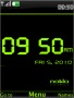 Clock Green Free Mobile Themes