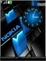 Nokia Blue Free Mobile Themes