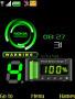 Nokia Green Clock themes
