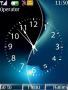 Blue Black Clock themes