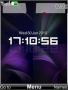 Clock Purple themes