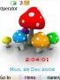 Swf Mushroom Clock themes