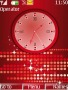 Animated Swf Red Clock themes