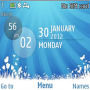 Galaxy Blue themes