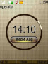 Golden Clock Free Mobile Themes
