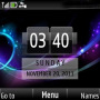Abstract Color Clock themes