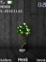 Dark Wood Plant themes