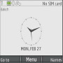 Gray Light Clock themes