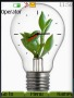 Plant In Bulb Clock themes