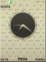 Black Dots Clock themes