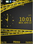 Crime Line Clock themes