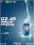 Pepsi Clock  Free Mobile Themes