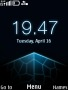 Blue Nokia Clock themes