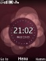 Abstract Violet Clock themes