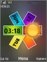 Nokia Colors Clock S40 Theme themes