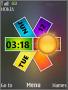 Nokia Colors Clock S40 Theme themes