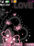 Pink Butterfly Love S40 Theme themes