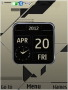 3D Design Nokia Clock S40 Theme themes