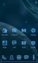 Future Space Blue Android Theme Free Mobile Themes