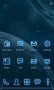 Future Space Blue Android Theme themes