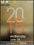 Nokia 3D Clock S40 Theme themes