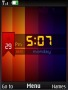 Colors IPhone Clock S40 Theme themes