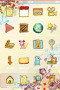 Colors Art Drawing For IPhone Theme themes