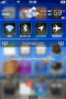 Blue Glass HD For IPhone Theme themes