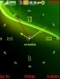 Swf Green Art Clock S40 Theme themes