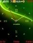 Swf Green Art Clock S40 Theme themes
