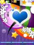 Blue Heart S40 Theme themes