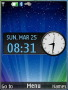 Shining Lights Clock S40 Theme themes