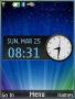 Shining Lights Clock S40 Theme Free Mobile Themes