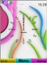 Swf Colorful Clock S40 Theme Free Mobile Themes