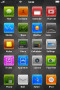 ICons & Dark View Apple IPhone Theme themes