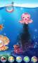 Sea Floor & Clock Bottle Android Theme themes