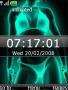 Animated Xray Bikini Clock S40 Theme themes