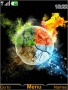 Colors Fire Cricle S40 Theme themes