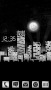 Dark City & Moon Clock For Android Theme themes