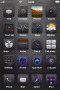 Mysterious HD Dark ICons IPhone Theme themes