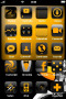 Goldrack & Icons For IPhone Theme themes