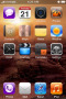 Red CityTetra IPhone Theme themes