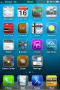 Blue Background IPhone Theme themes