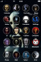 Skulls ICons IPhone Theme themes