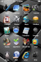 Cubes Gray 3D IPhone Theme themes
