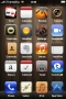 Brown Lights ICons 3D IPhone Theme themes