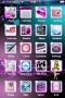 Purple Girl & Bokeh Flowers IPhone Theme themes