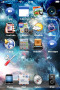 Starry Sky Blue IPhone Theme themes