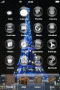 Tour Eiffel Blue Light IPhone Theme themes