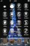 Tour Eiffel Blue Light IPhone Theme themes